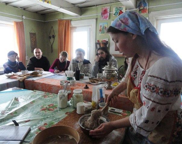 Семинар в экопоселении Росы. Беларусь